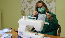 Spremberg: Schutzmasken selbstgenäht
