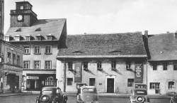 Bilder aus dem alten Senftenberg: Damals das steilste aller Rathausdächer