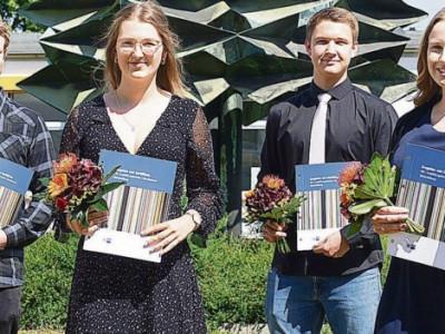 Schwarzheide: Zeugnisausgabe bei BASF