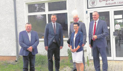 Besuch in Welzow