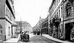 Bilder aus der alten Neißestadt Guben: 80 Milliarden Mark für eine Tramfahrt