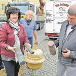 Bilder aus dem alten Senftenberg: Hier weiden jetzt wetterfeste Gänse