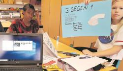 Workshopwoche bei Cottbuser Schule