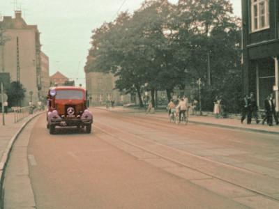 Bilder aus dem alten Cottbus: Möglich, dass ich selbst am Steuer saß