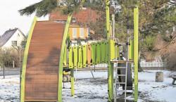 Neuer Spielplatz in Guben