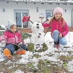 Gewinner des Striesower Schneemannwettbewerbs ausgezeichnet