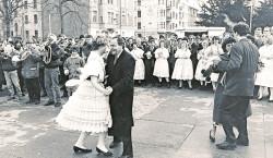 Zug der Paare in Ströbitz