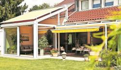 Energiegewinn im Wintergarten