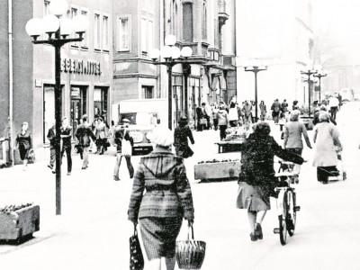Altes Cottbus: Es war die beliebteste Einkaufsstraße