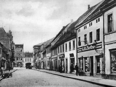 Altes Senftenberg: Wo mal das wehrhafte Kreuztor stand