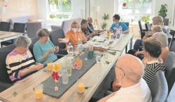 Kräuterurkunde bei Ambulantis Tagespflege in Cottbus