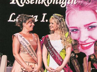 Wer wird zur nächsten Forster Rosenkönigin?