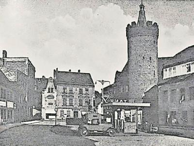 Bilder aus dem alten Guben: Der Dicke Turm steht heute in Gubin