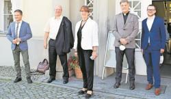 Ministerin zu besuch bei Naëmi-Wilke-Stift Guben