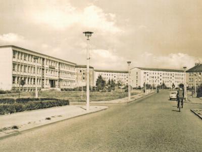 Altes Senftenberg: Senftenberger Straße des Bergmanns