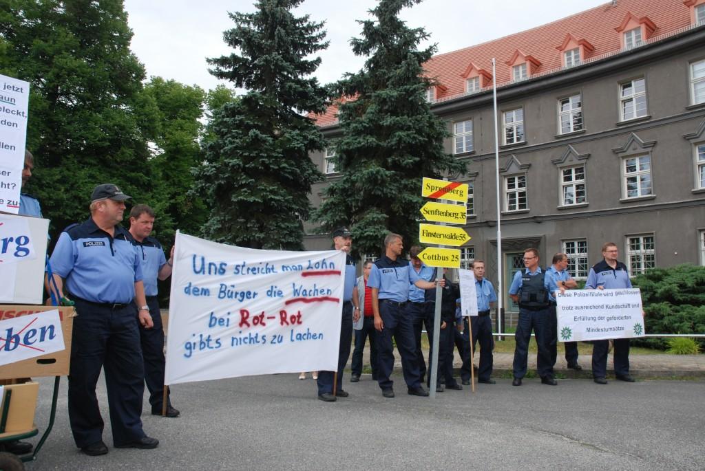 Polizei-Reformpläne geraten unter Druck