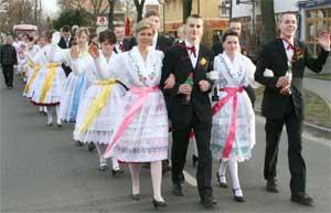 Zampern und Fastnacht in der Lausitz