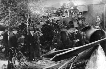Spremberg: Schweres Eisenbahnunglück am 7. August 1905