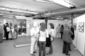 Forst: Ansichten und Porzellan aus dem Kreis Sorau im Textilmuseum