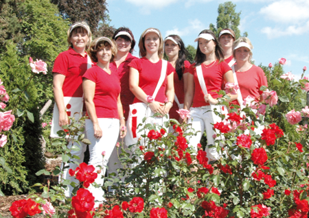 Forst: Drei Tage Blütenpracht und Stimmung im Rosengarten