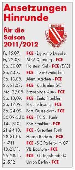 Auftakt ins Ungewisse: Freitag startet Energie gegen Dresden in die neue Spielzeit