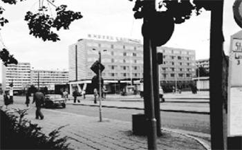 Cottbus: Hotel Lausitz im Jahre 1981
