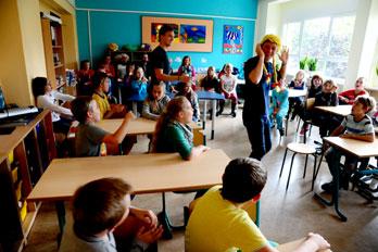 """""""Grimms Kram"""" im Klassenzimmer"""