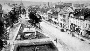 Spremberg: Pause in der Dresdener Straße