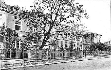 Altes Cottbus: Die heutige Erich-Kästner-Schule in der Puschkinpromenade