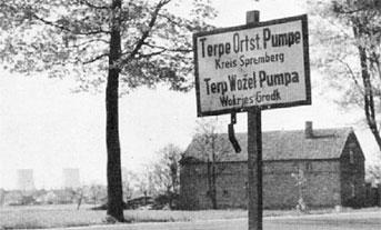 Spremberg: Terpe Ortsteil Pumpe