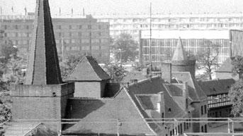 """Altes Cottbus: Das """"Hotel Lausitz"""" stand neben der Stadthalle"""