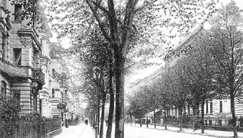 Altes Cottbus: Die Kaiser-Friedrich-Straße, heutige Karl-Liebknecht-Straße