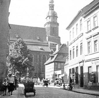 Altes Cottbus: Das frühere Gymnasium am Oberkirchplatz