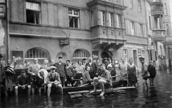 Guben: Hochwasser 1926