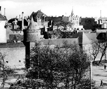 Cottbus: Schöne Ansicht der Stadtmauer