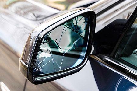 Autospiegel defekt - Fahrt gestoppt