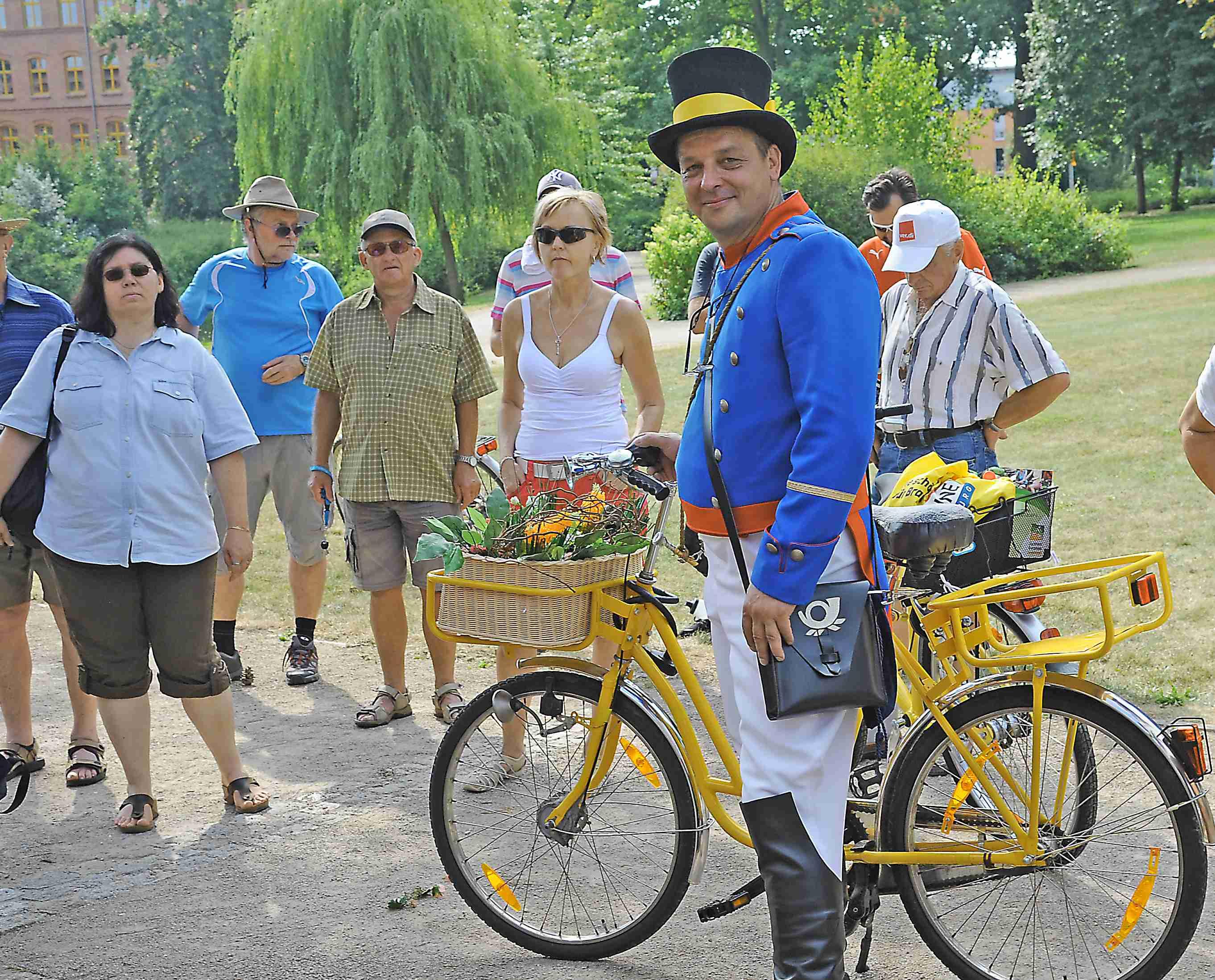 Fahrradkonzert startet am 3.8.14: Radeln und unterwegs Künstlern zuschauen