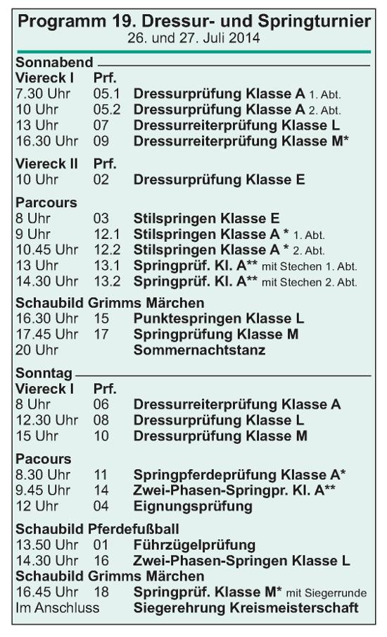 Top Stimmung in Gallinchen an diesem Wochenende (26. und 27.7.14)