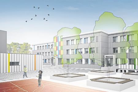 Baustellen in Cottbuser Schulen und Kindertagesstätten nehmen zu