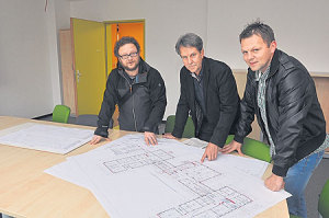 Cottbuser Gymnasium im laufenden Schulbetrieb saniert
