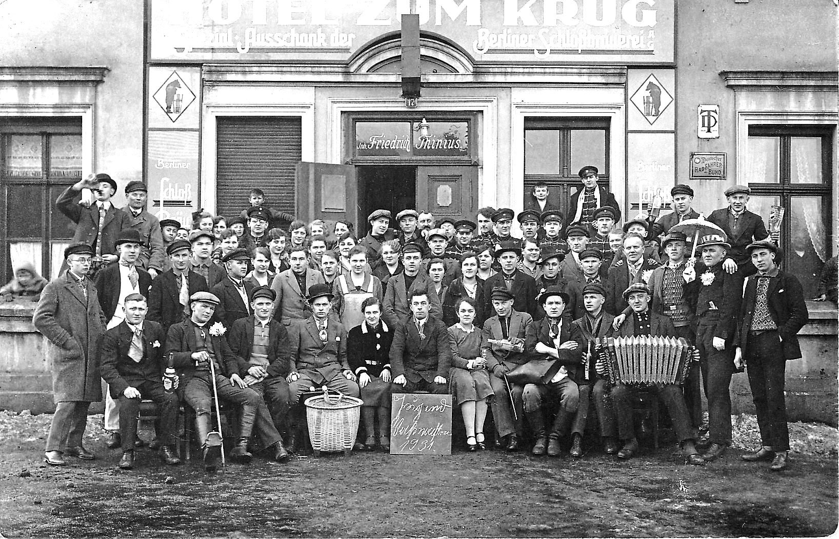 Senftenberg: Das Klettwitzer Gasthaus von Paul Thinius hat turbulente Zeiten erlebt