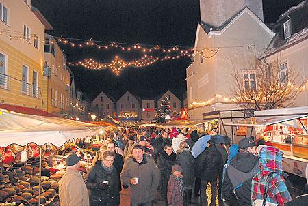 Der Spremberger Weihnachtsmarkt ist ab dem 13.12. eröffnet