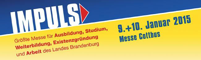 IMPULS  präsentiert über 200 Aussteller am 9./10.1. in Cottbus
