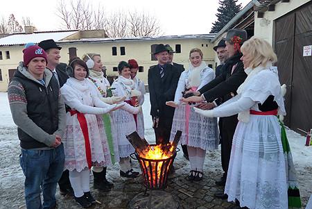 Hoftore sind wieder weit geöffnet in Ströbitz am 24.01.