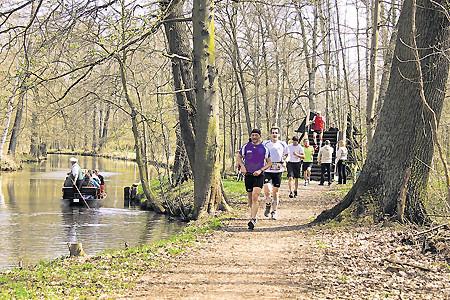 """""""Auf die Gurke, fertig, los!"""": Spreewald-Marathon startet am kommenden Freitag, 17.4.15"""