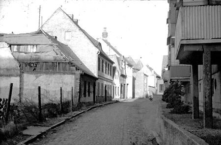 Spremberg: Jüdengasse in den 70er-Jahren