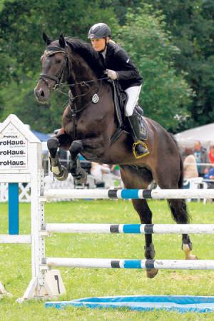 150 Pferde überspringen am 27. und 28. Juni Kunersdorfer Parcour
