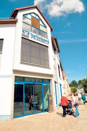 Slamener Volksbank feiert  am 20.6. 100 Jahre