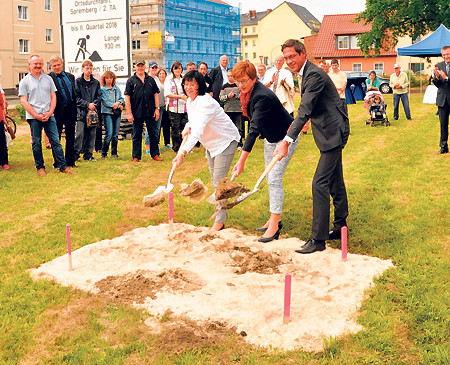 Spremberg: Kreisel steht für Attraktivität