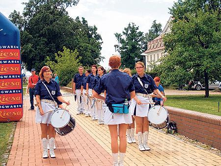 Stadtumzug krönt Jubiläumsfest am 12.07.